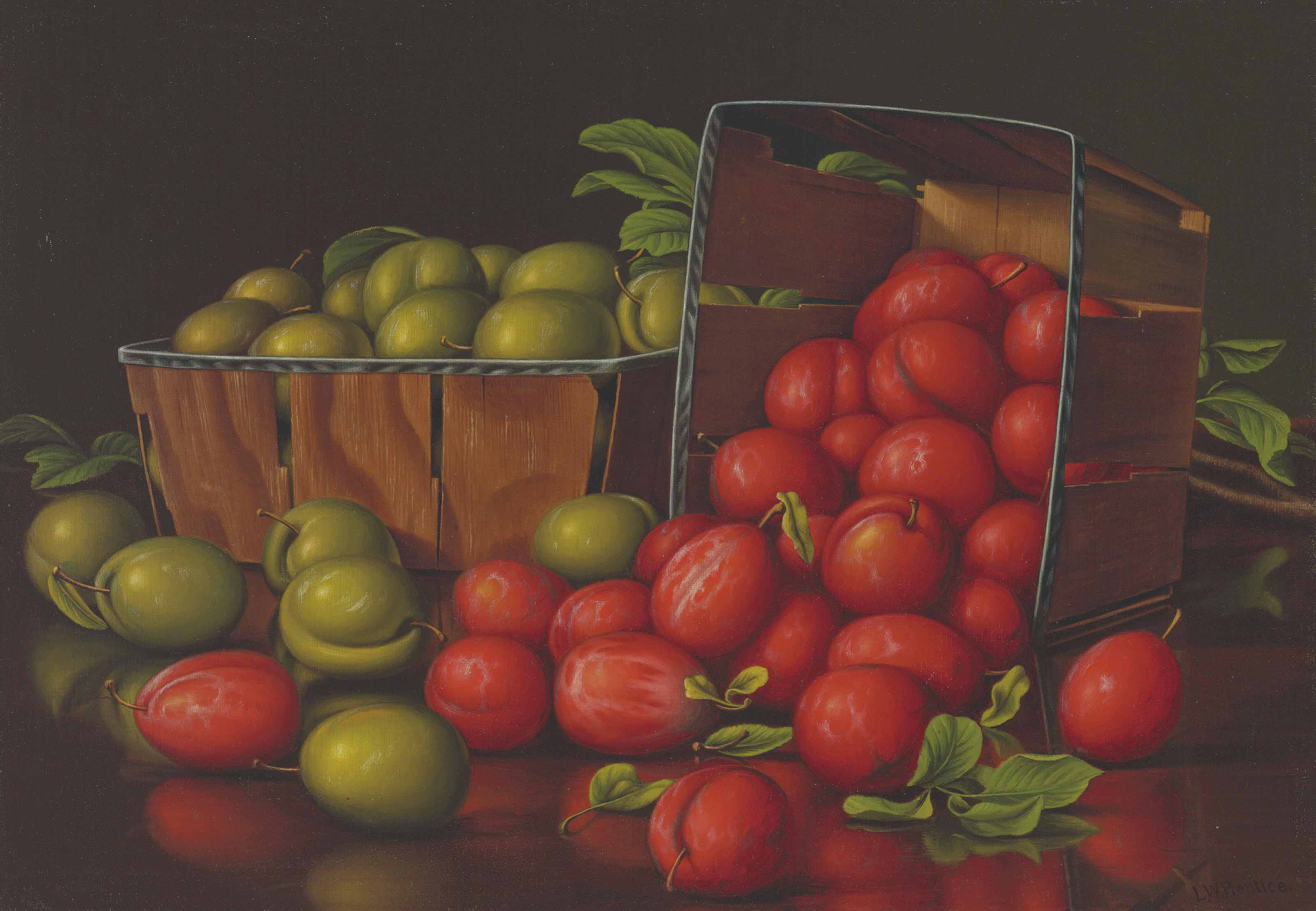 Red and Green Plums