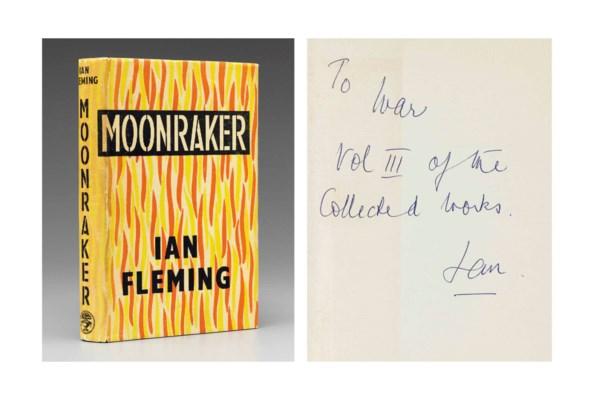FLEMING, Ian (1908-1964). Moon