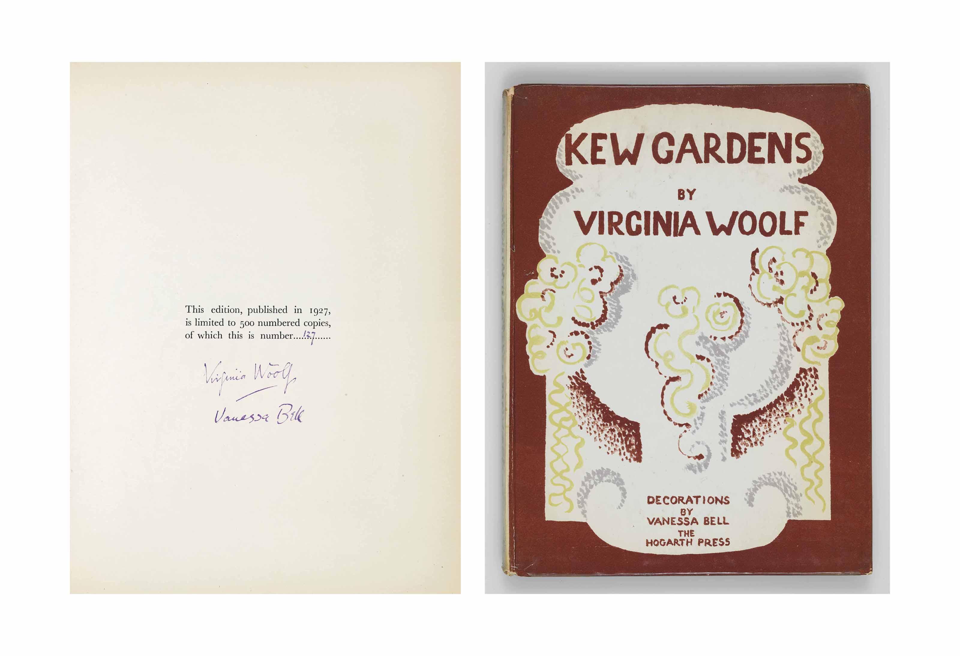 WOOLF, Virginia. Kew Gardens.