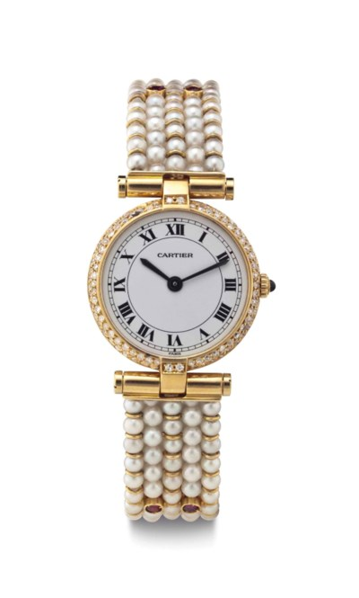 Cartier. An Attractive Lady's