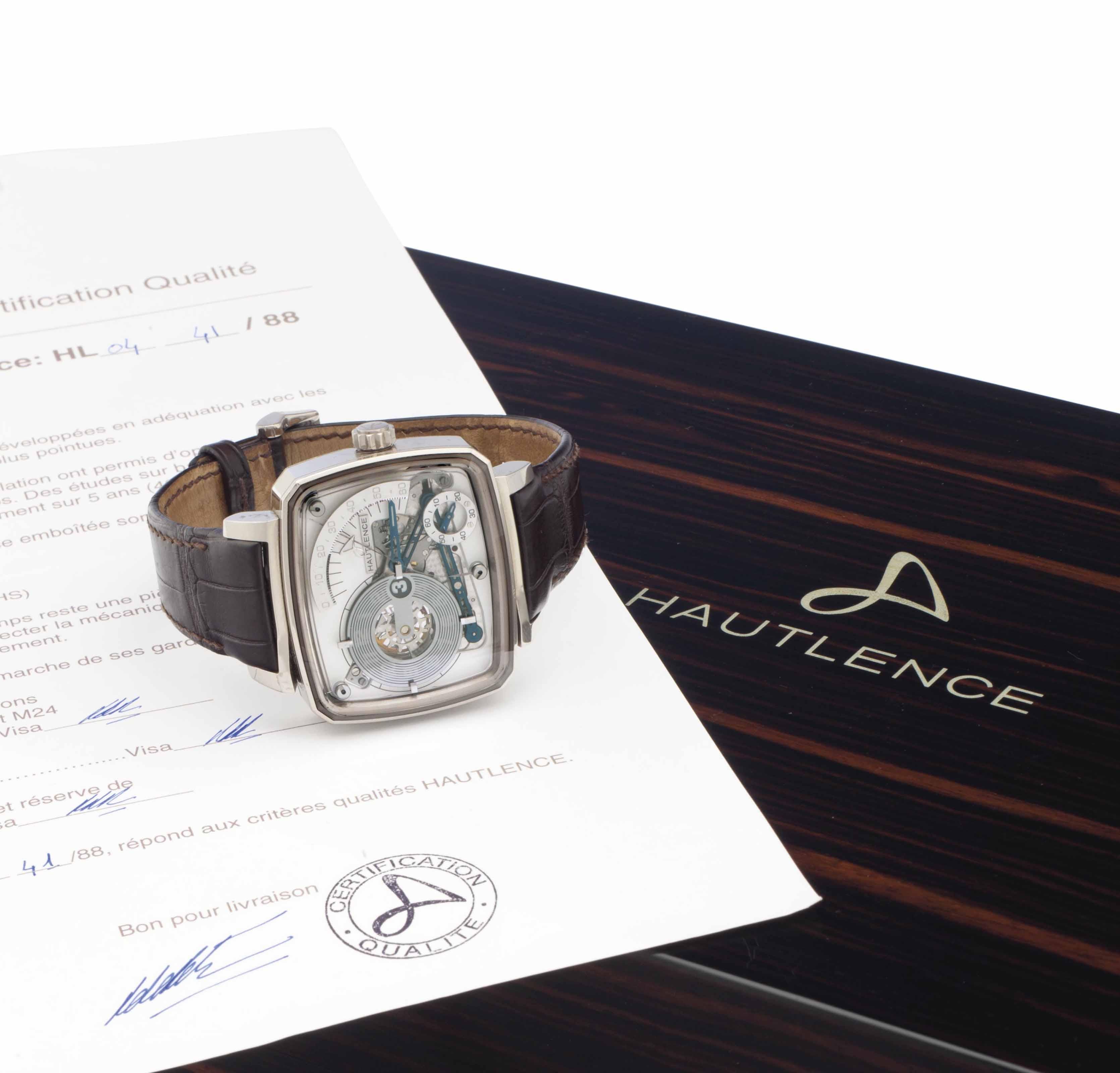 Hautlence. A Limited Edition 1