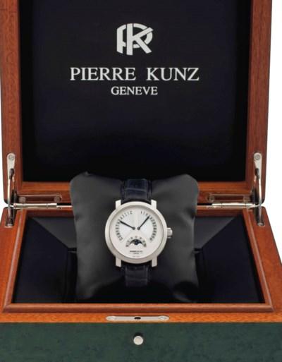 Pierre Kunz. An 18k White Gold