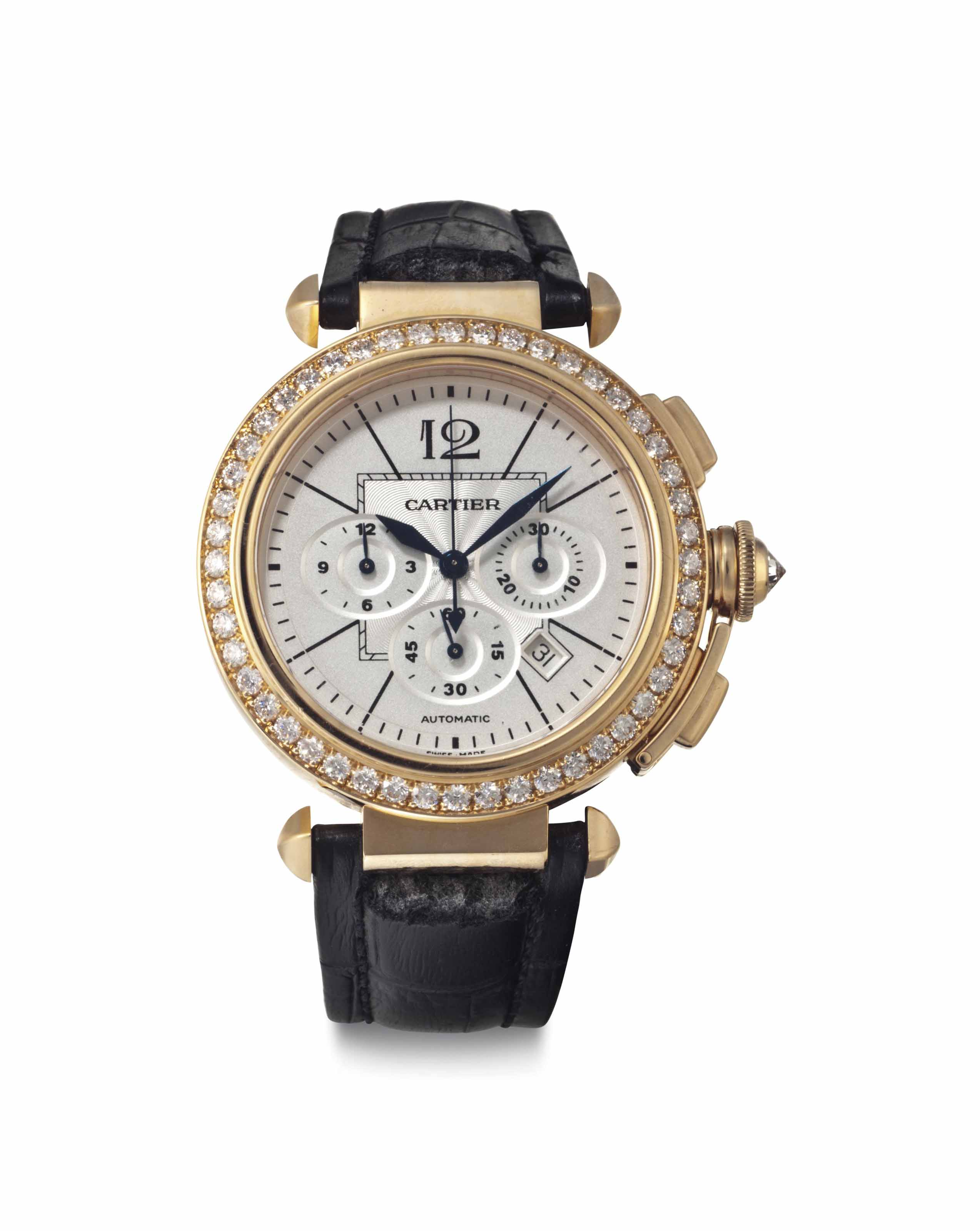 Cartier. An 18k Pink Gold and