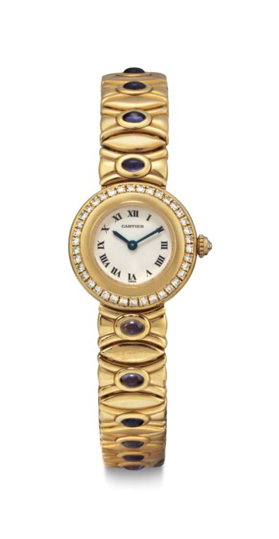 Cartier. An 18k Gold, Diamond