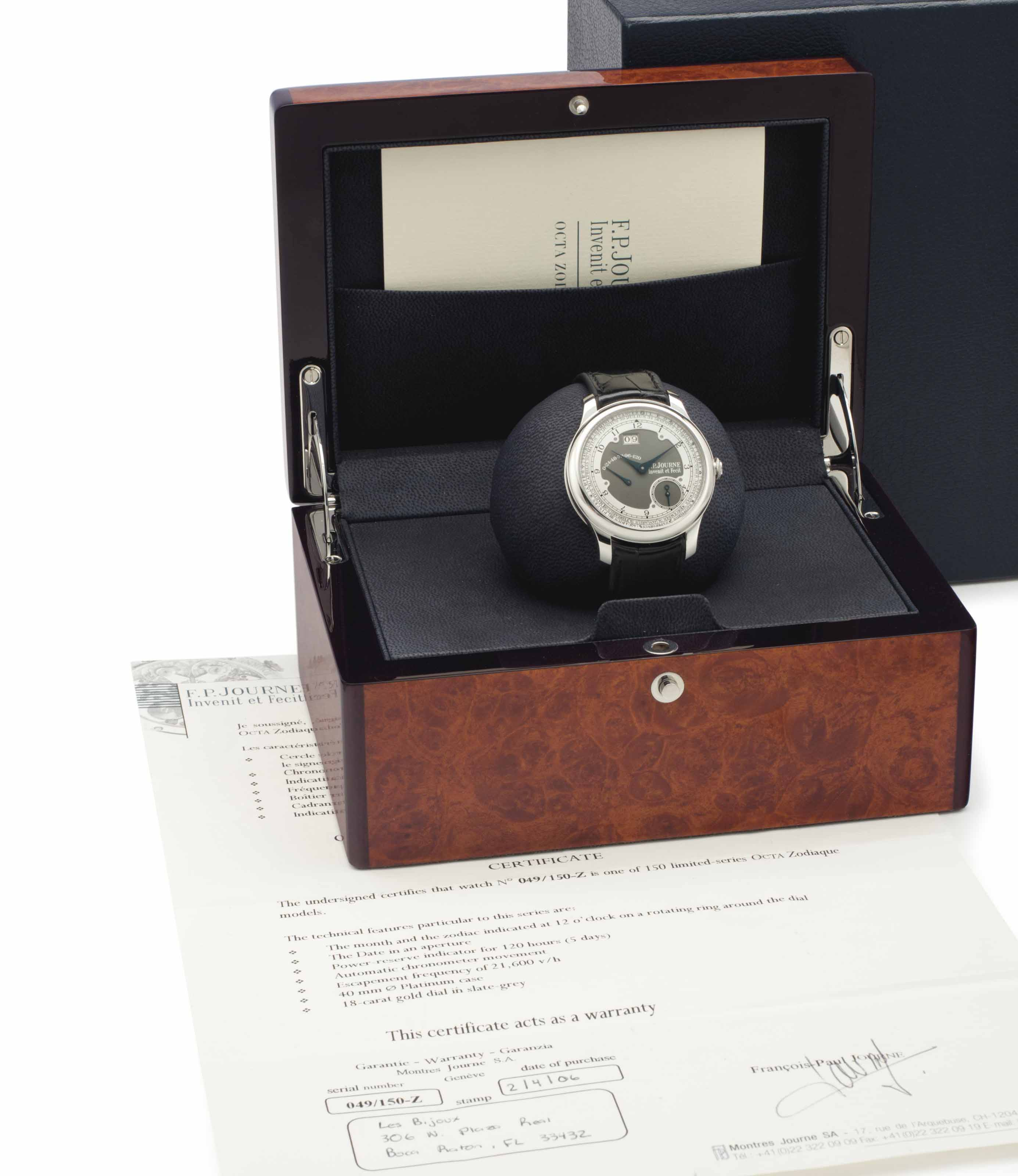 F. P. Journe. A Limited Editio