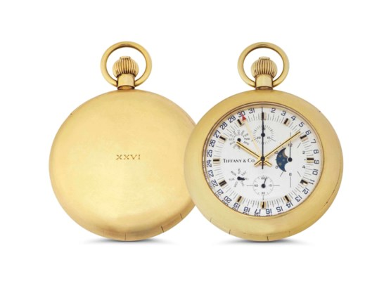 Tiffany. An 18k Gold Openface