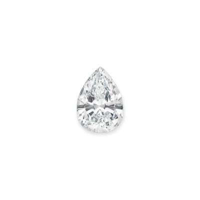AN IMPORTANT DIAMOND PENDANT