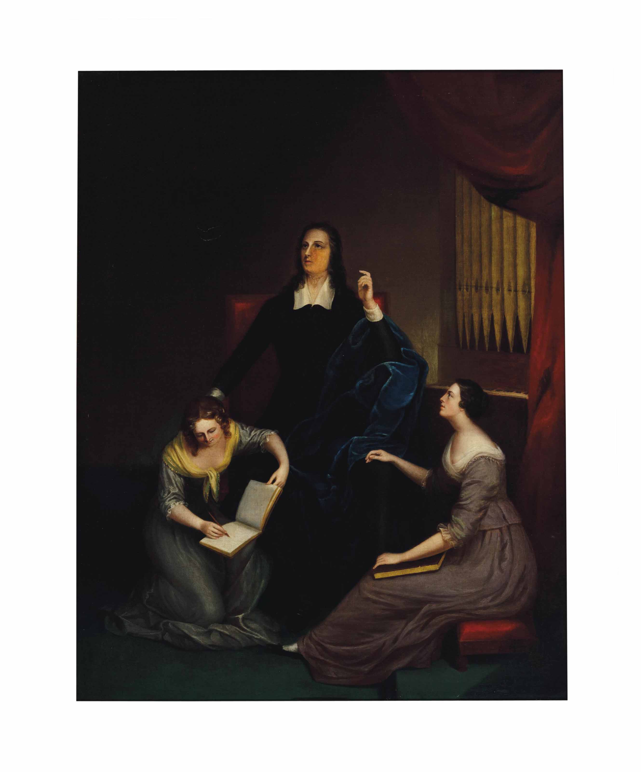Milton dictating to his daughters