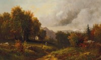Landscape in the Poconos