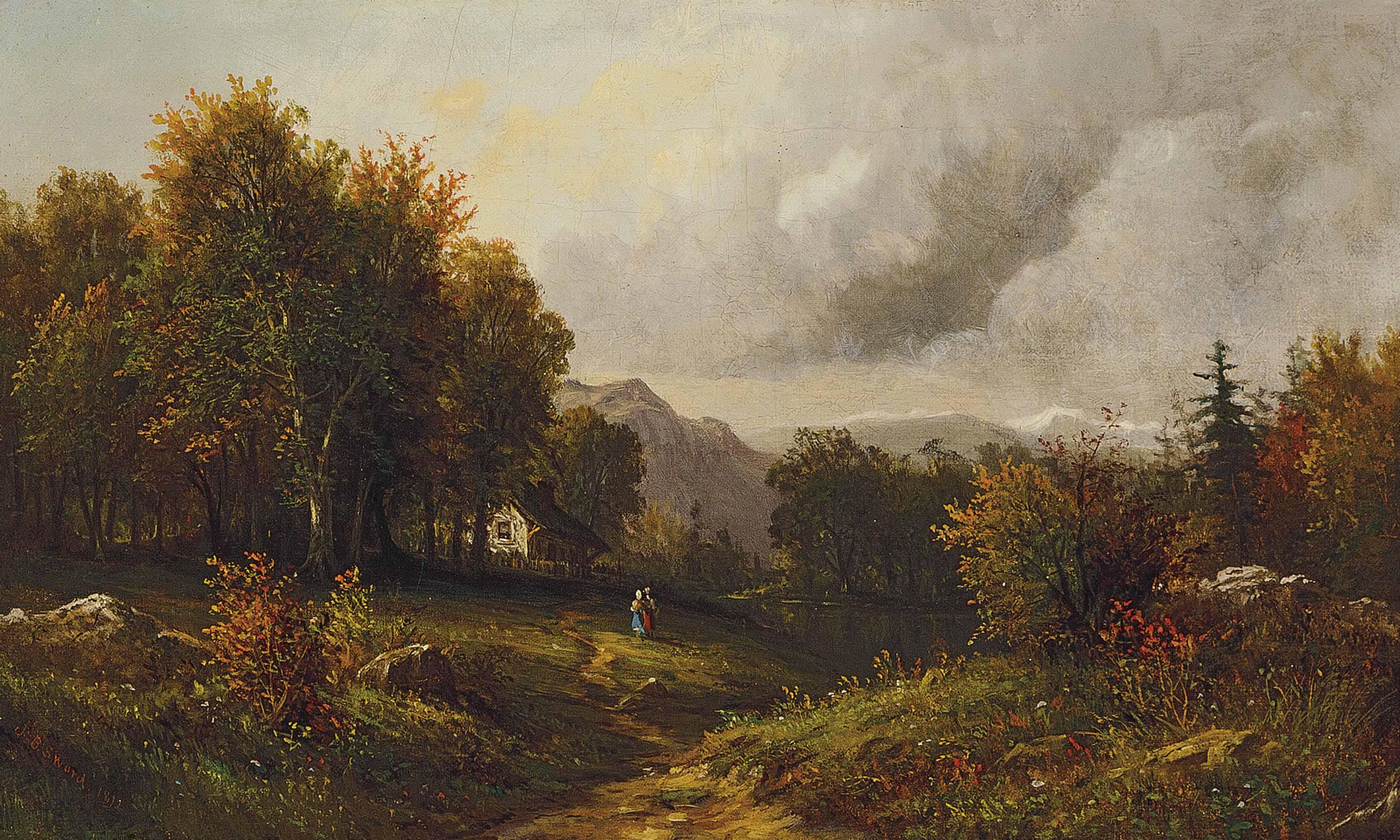 Landscape in the Poconos