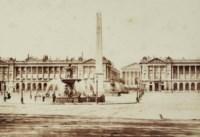 Place de la Concorde, c. 1845