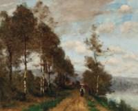 Une route pres de la rivière