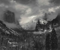 Clearing Winter Storm, Yosemite Valley, c. 1939