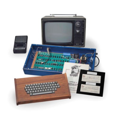 THE RICKETTS APPLE-1 PERSONAL
