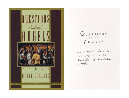 COLLINS, Billy (b.1941). Quest
