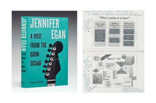 EGAN, Jennifer (b. 1962). A Vi