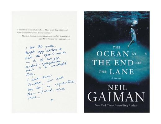 GAIMAN, Neil (b. 1960). The Oc