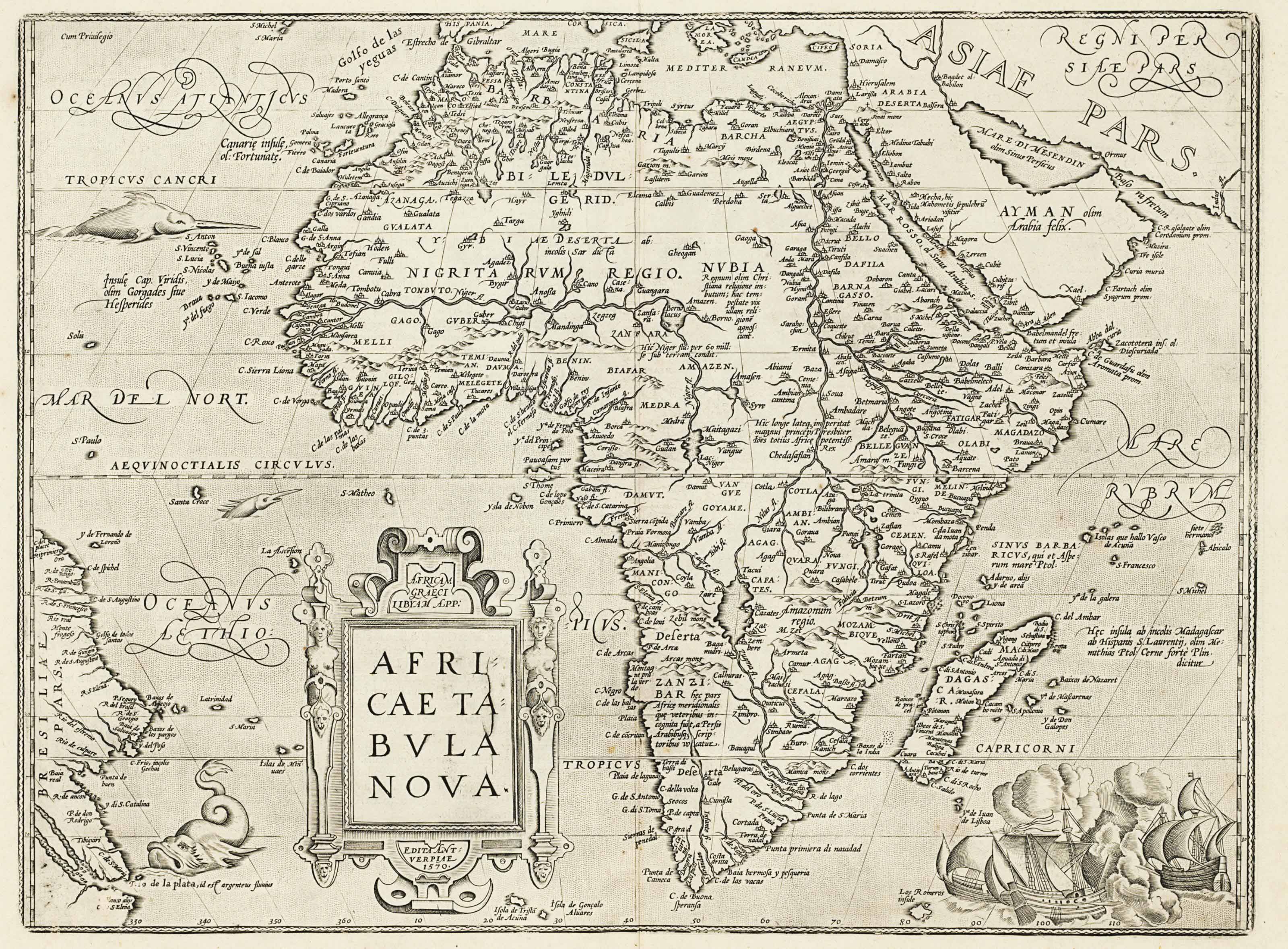 [AFRICA.] A group of 28 maps,