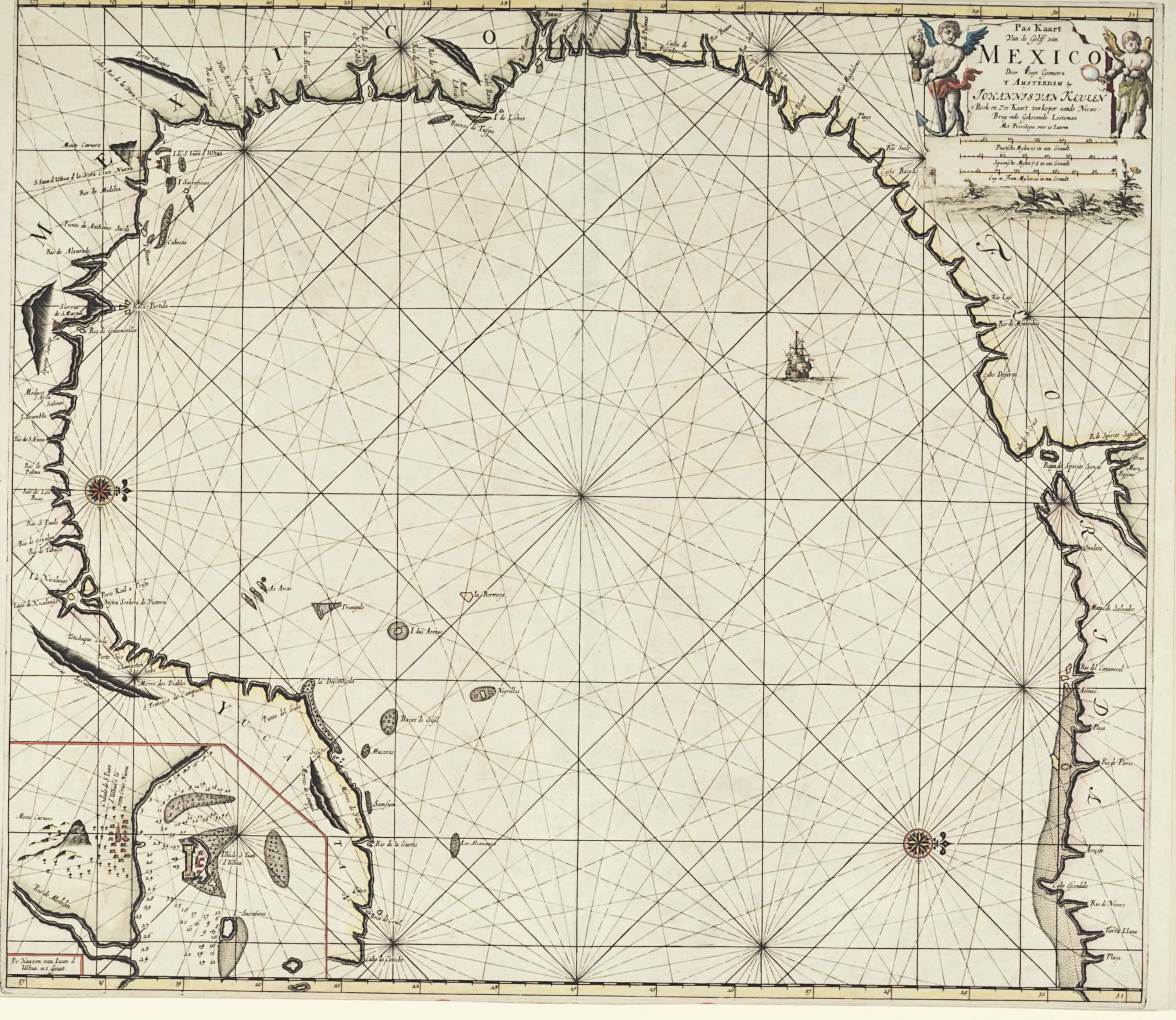KEULEN, Gerard van (1654-1715)