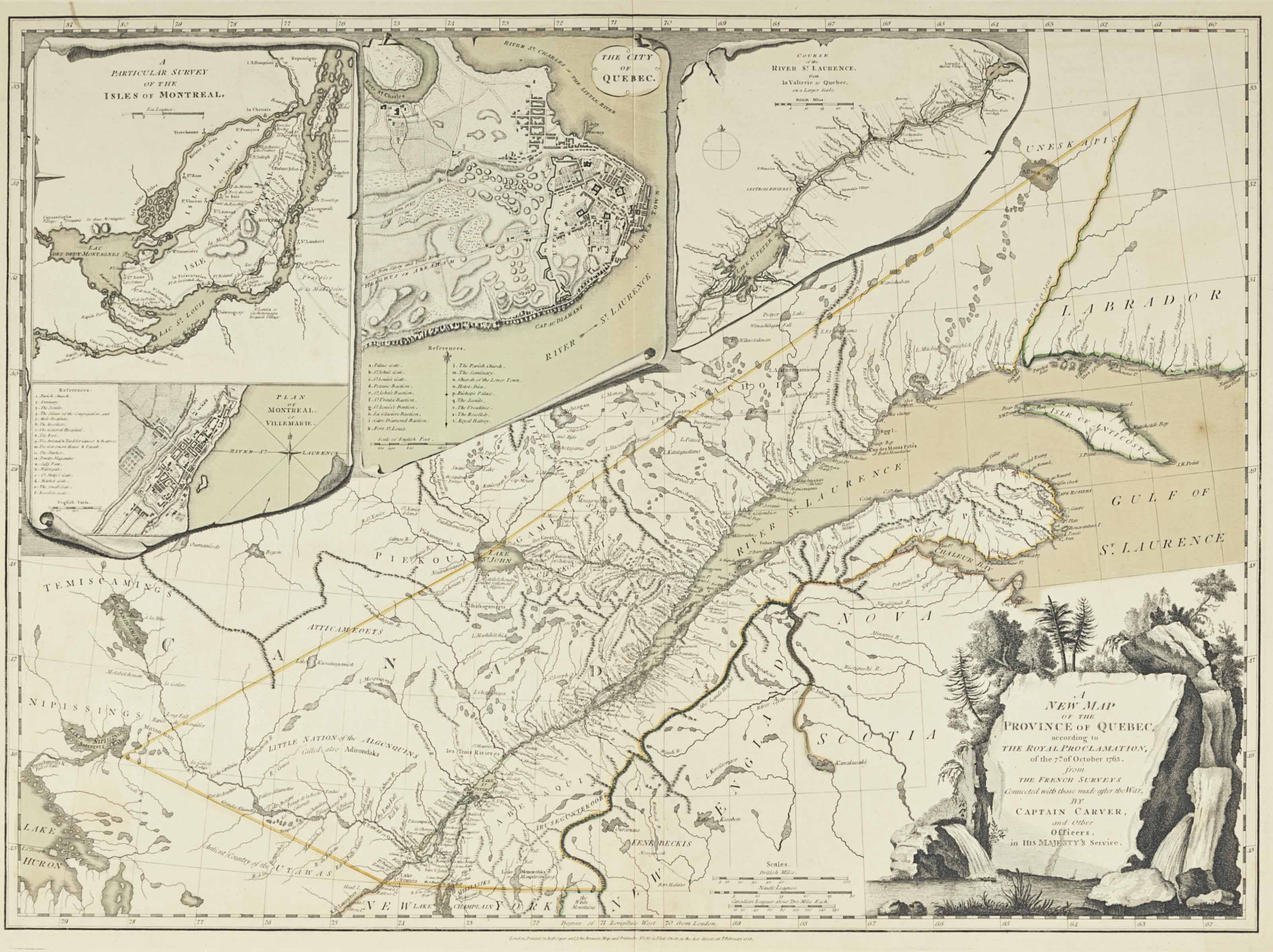 CARVER, Jonathan (ca 1732-1780