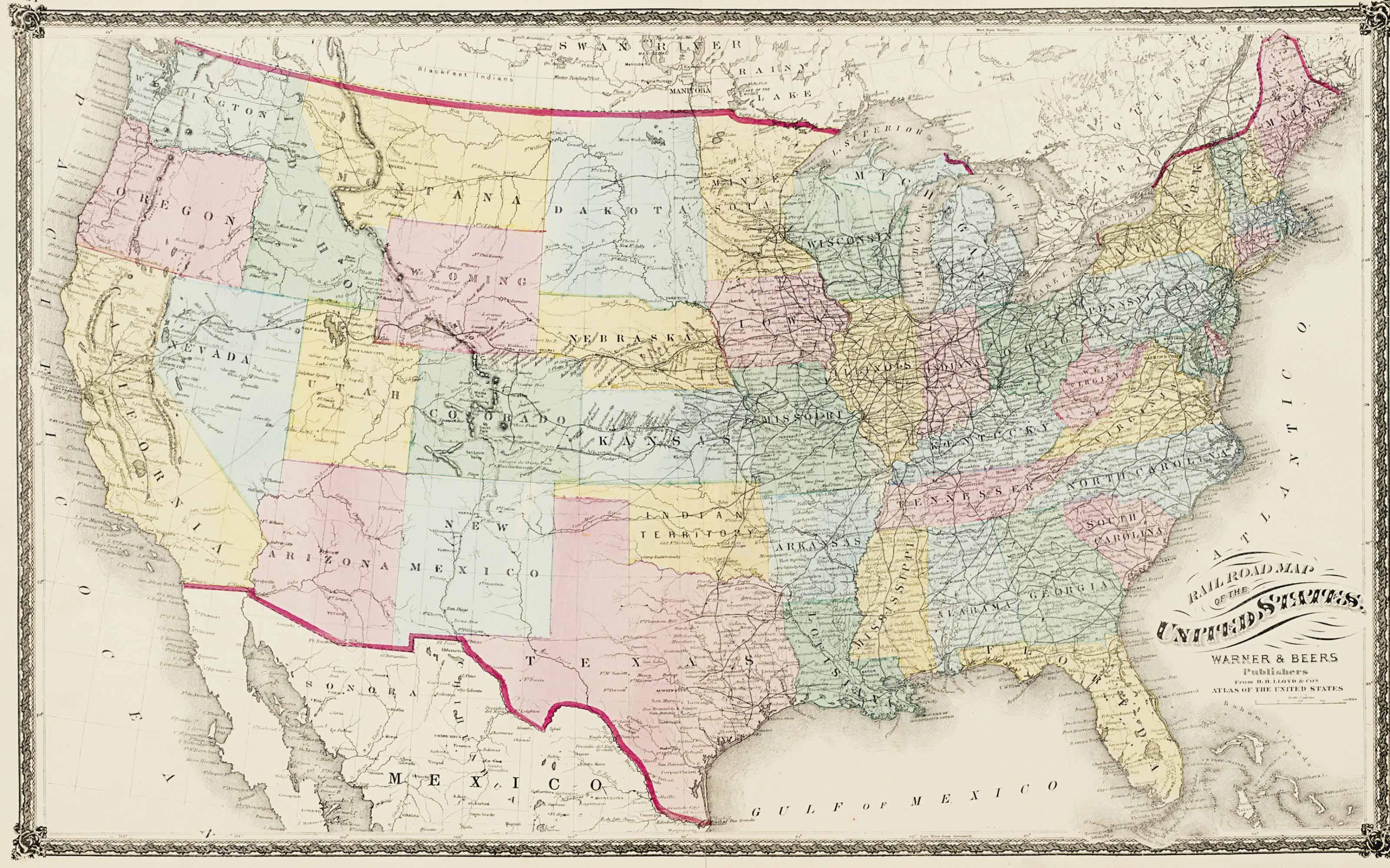 [19th CENTURY AMERICAS]. A gro