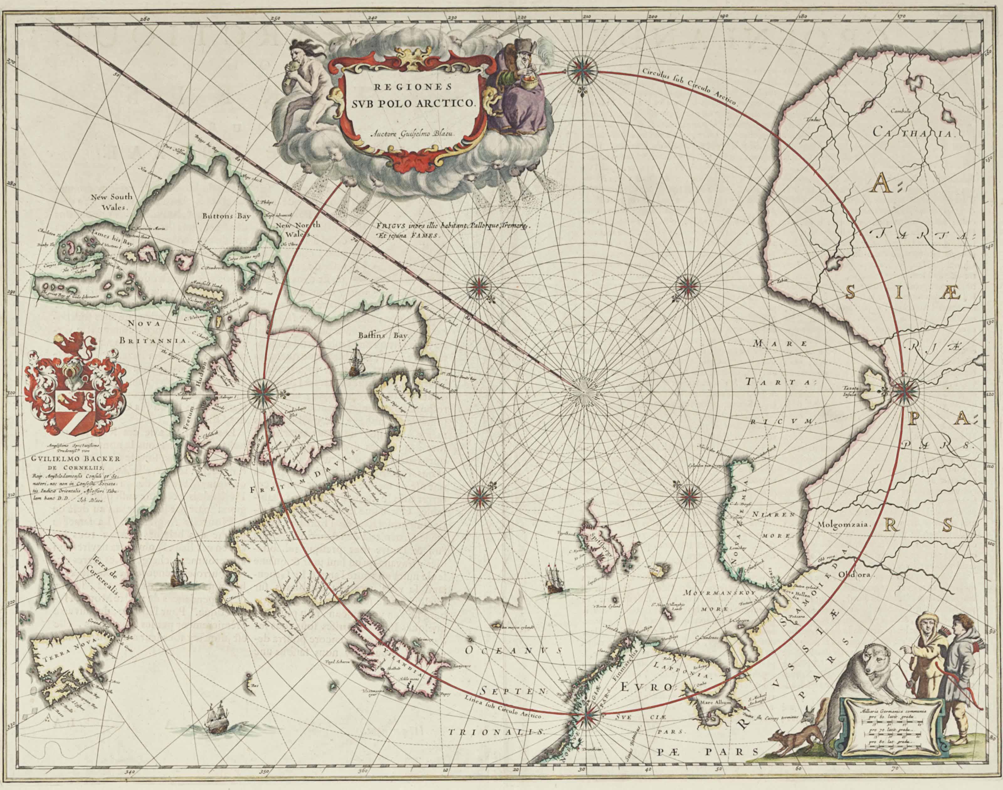 BLAEU, Willem (1571-1638). Reg