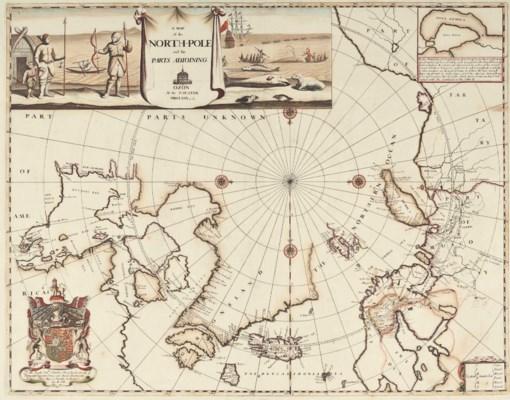 PITT, Moses (1654-1696). A Map