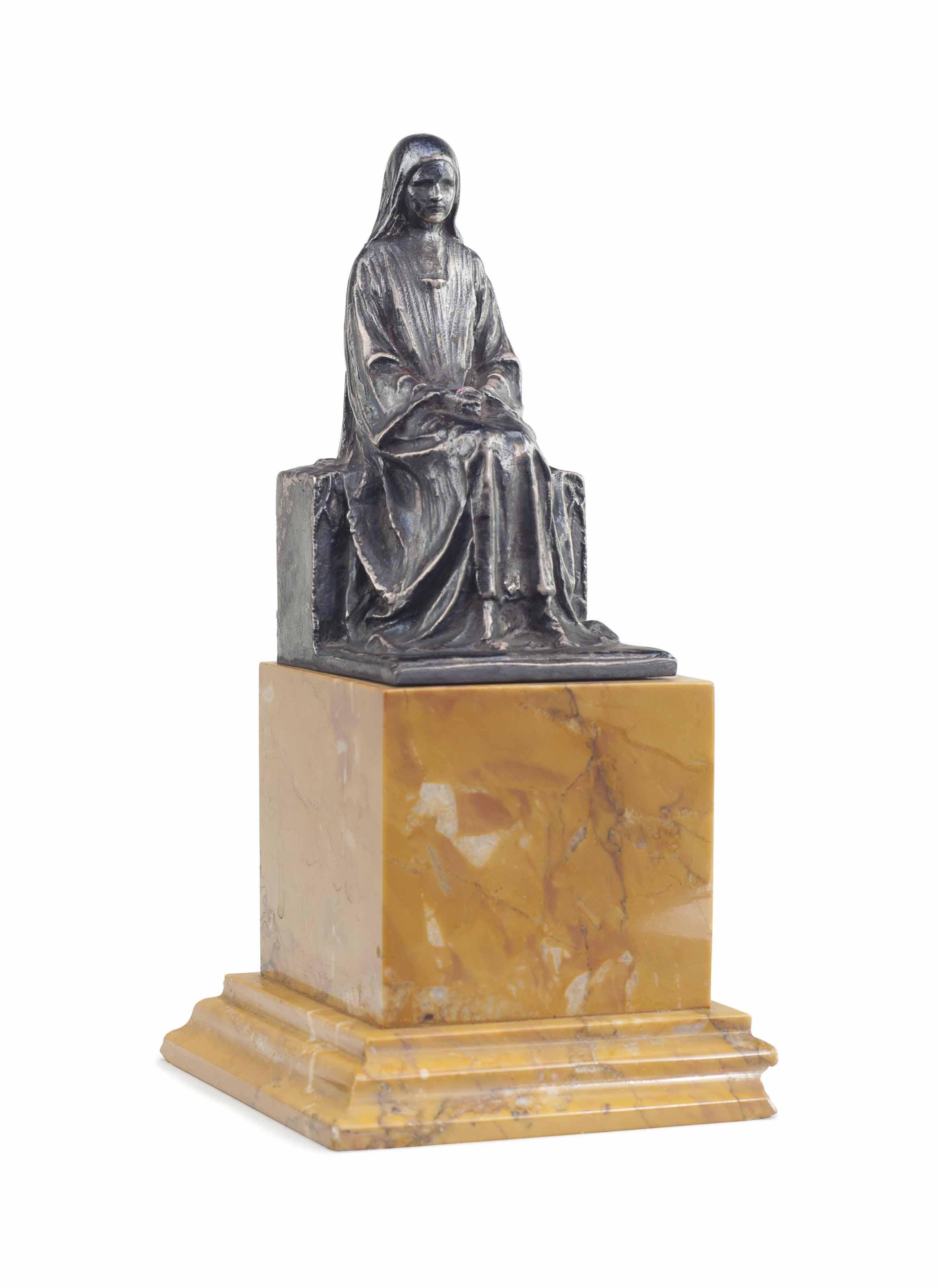 Female Saint, seated