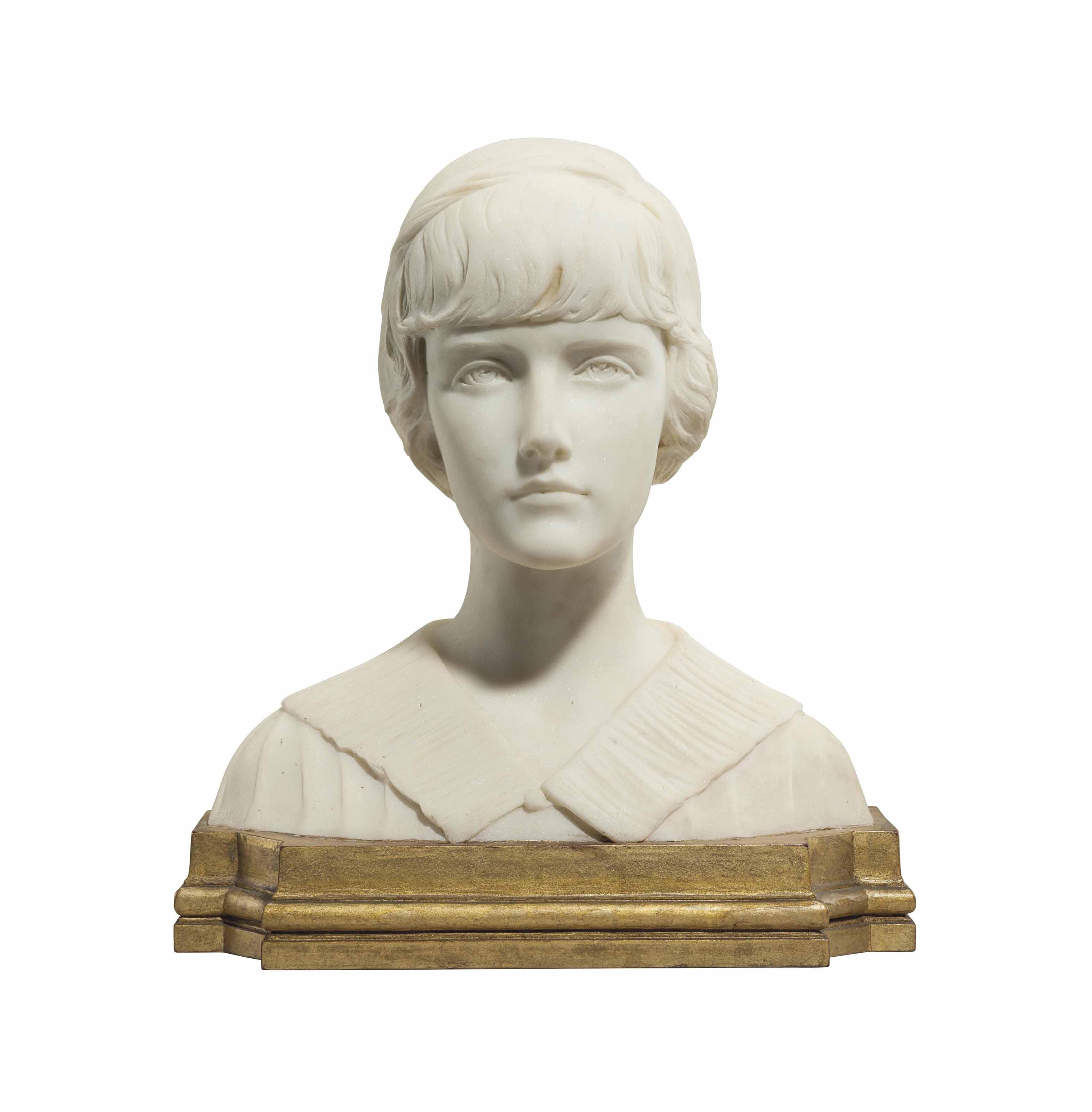 Portrait Bust of Andrée Clark (1902-1919)