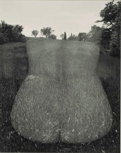 Harry Callahan, Eleanor, Aix-en-Provence, France, 1958