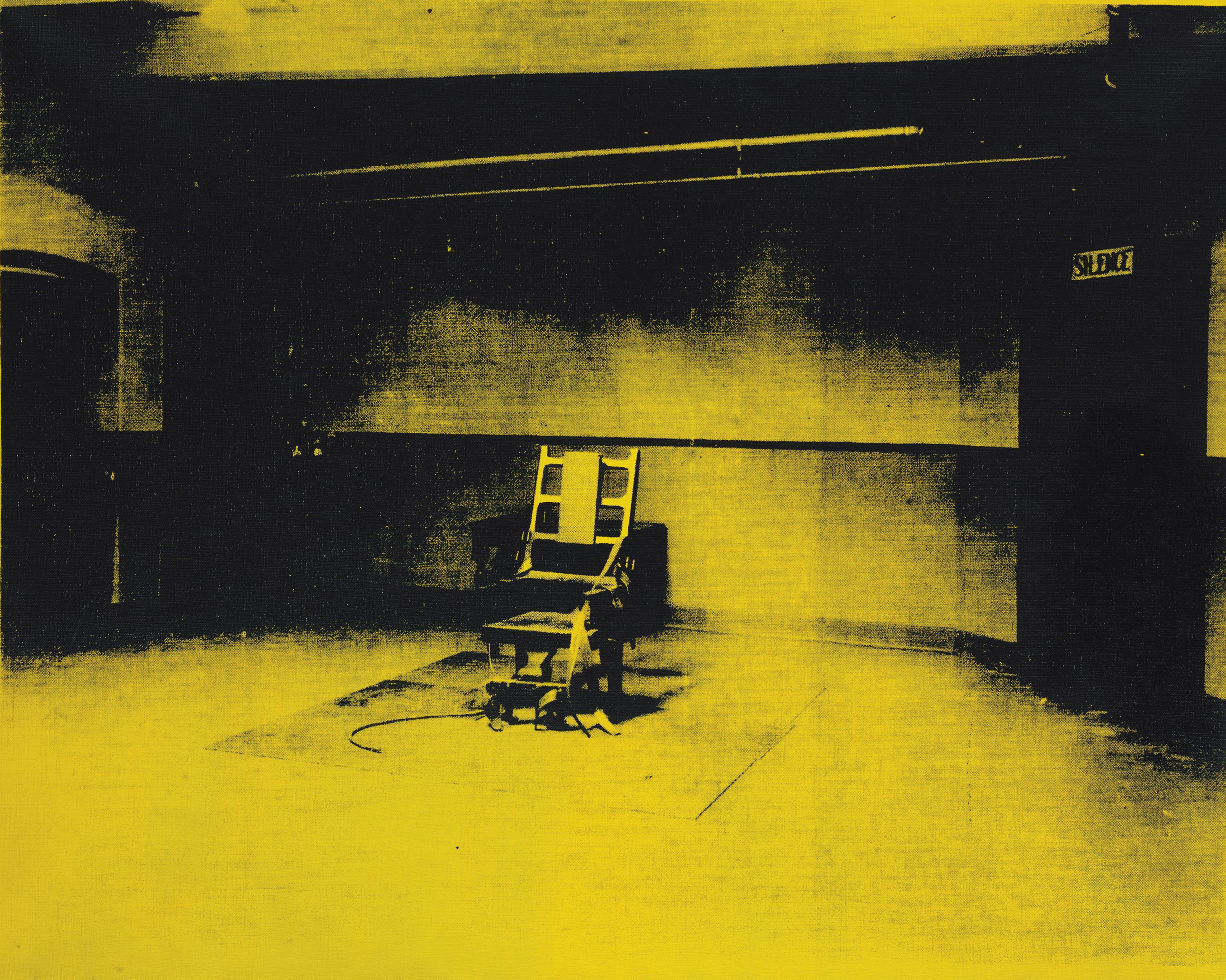 Andy Warhol (1928-1987) | Little Electric Chair | 1960s, Paintings ...