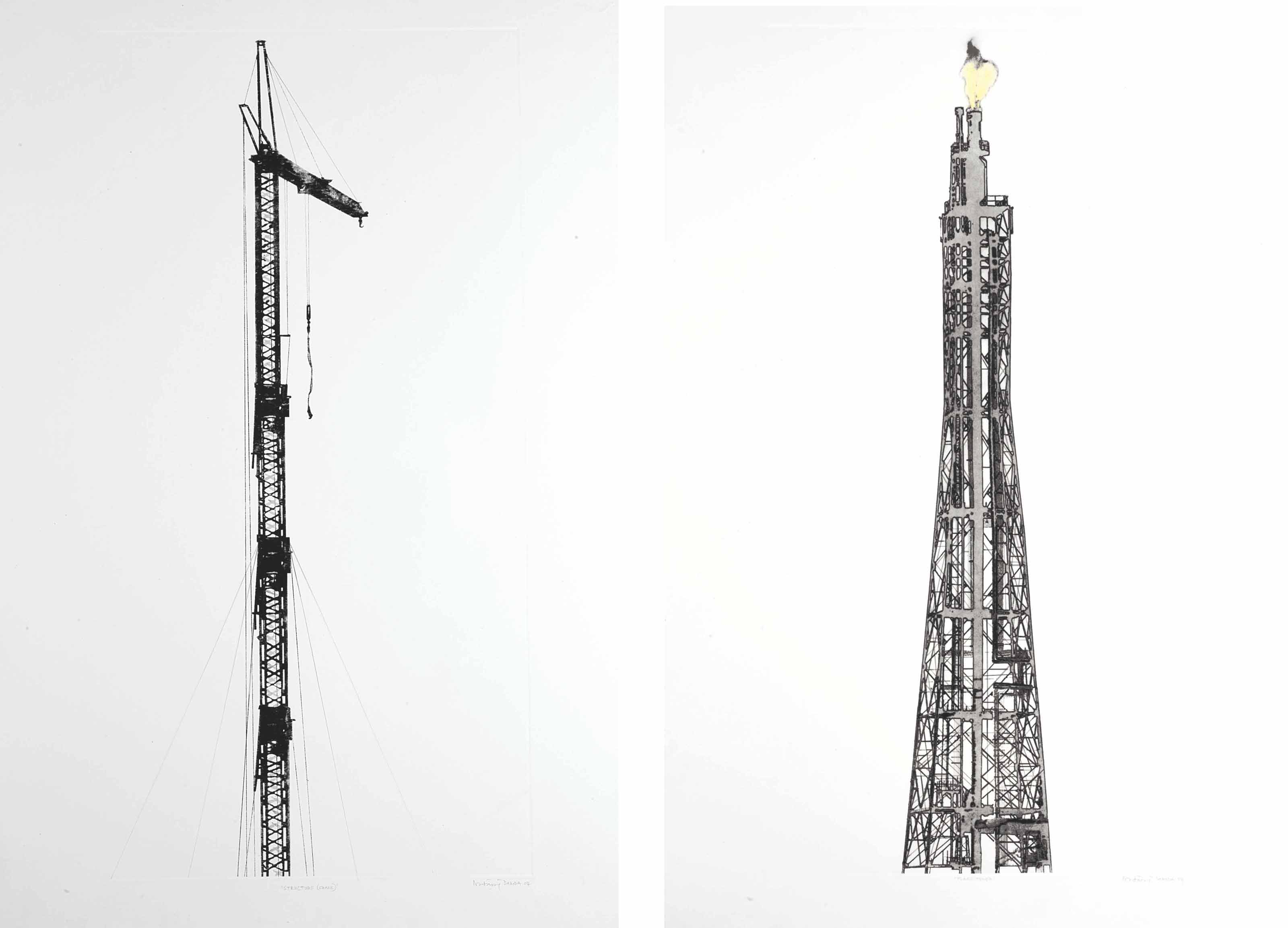 Structure (Crane); Flame Tower