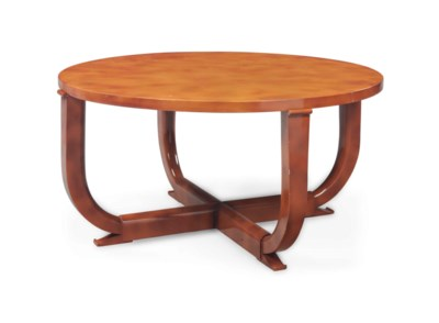 A FRENCH LACQUER CENTER TABLE