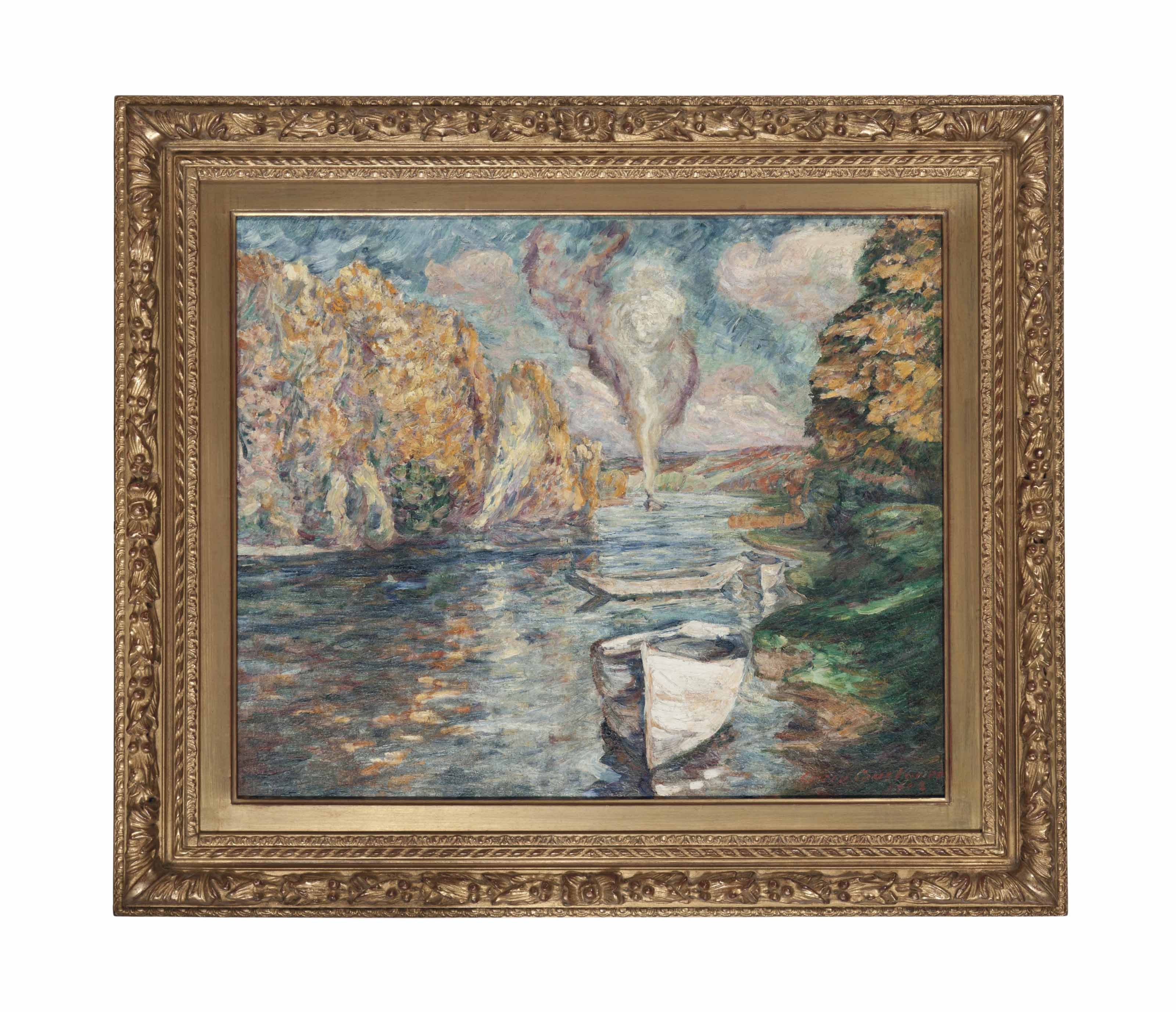 Scene de riviere