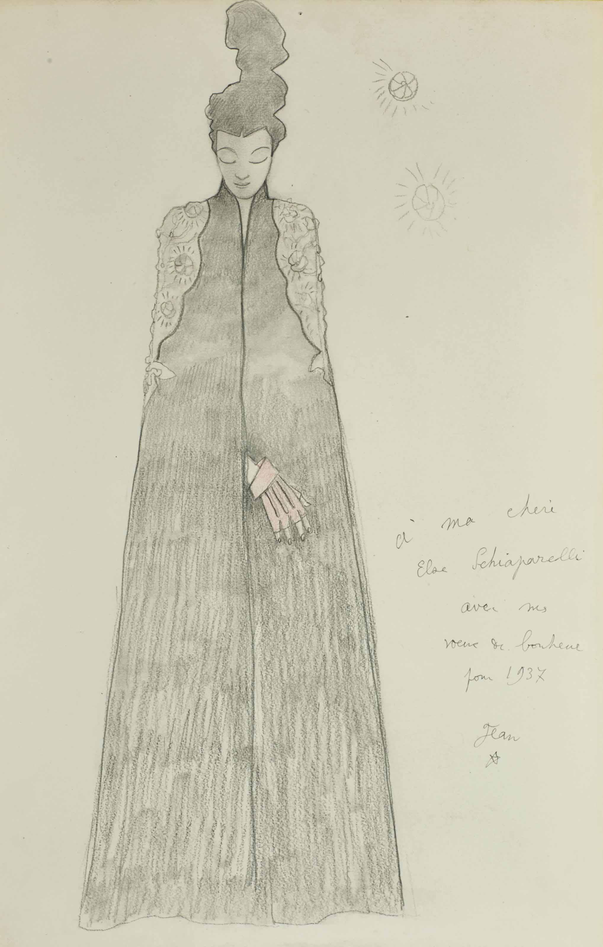 Portrait de Madame Schiaparelli
