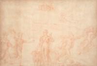 Néphélé recevant le bélier ailé Chrysomallos