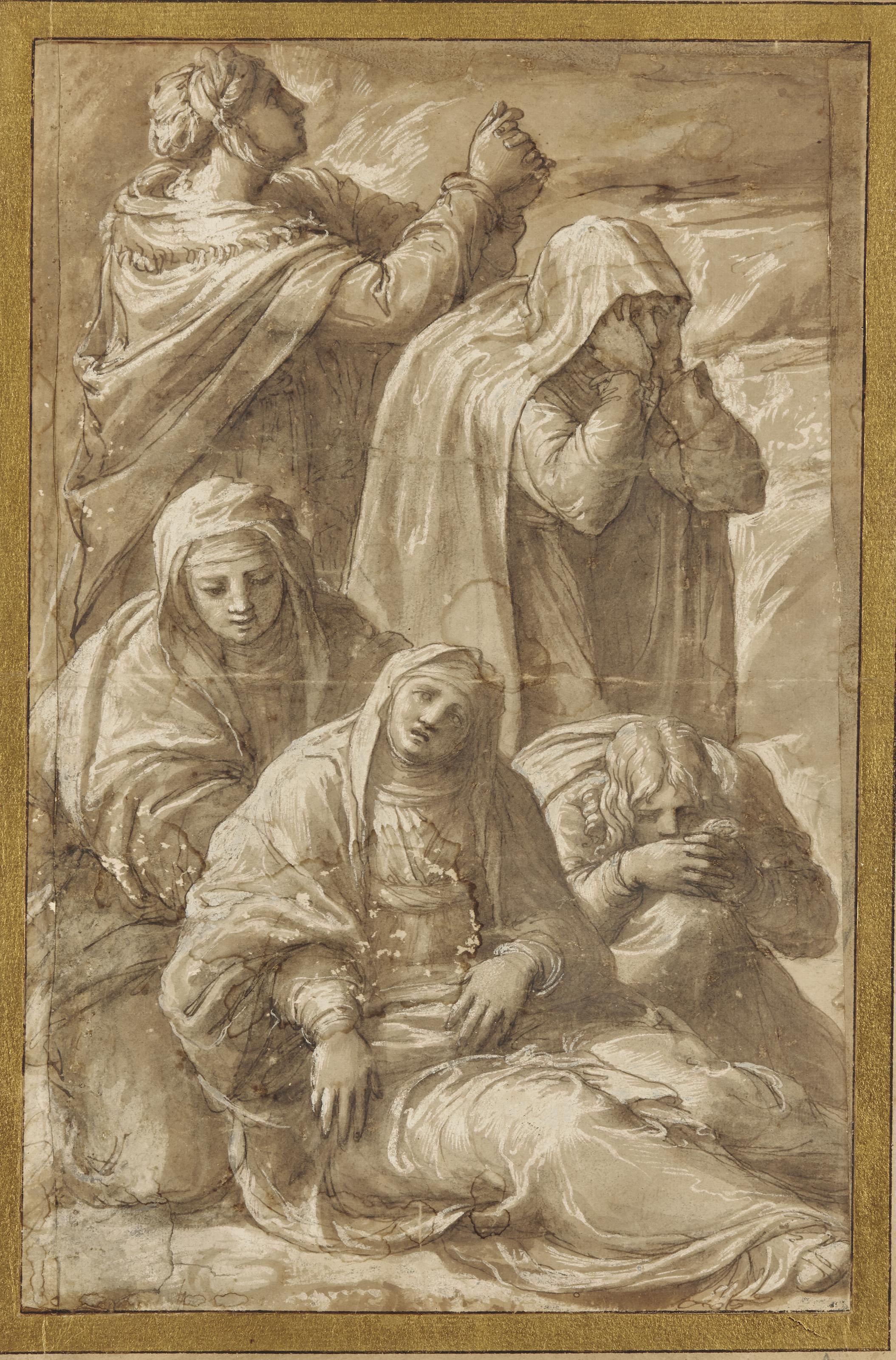La Vierge en pâmoison secourue par les saintes femmes