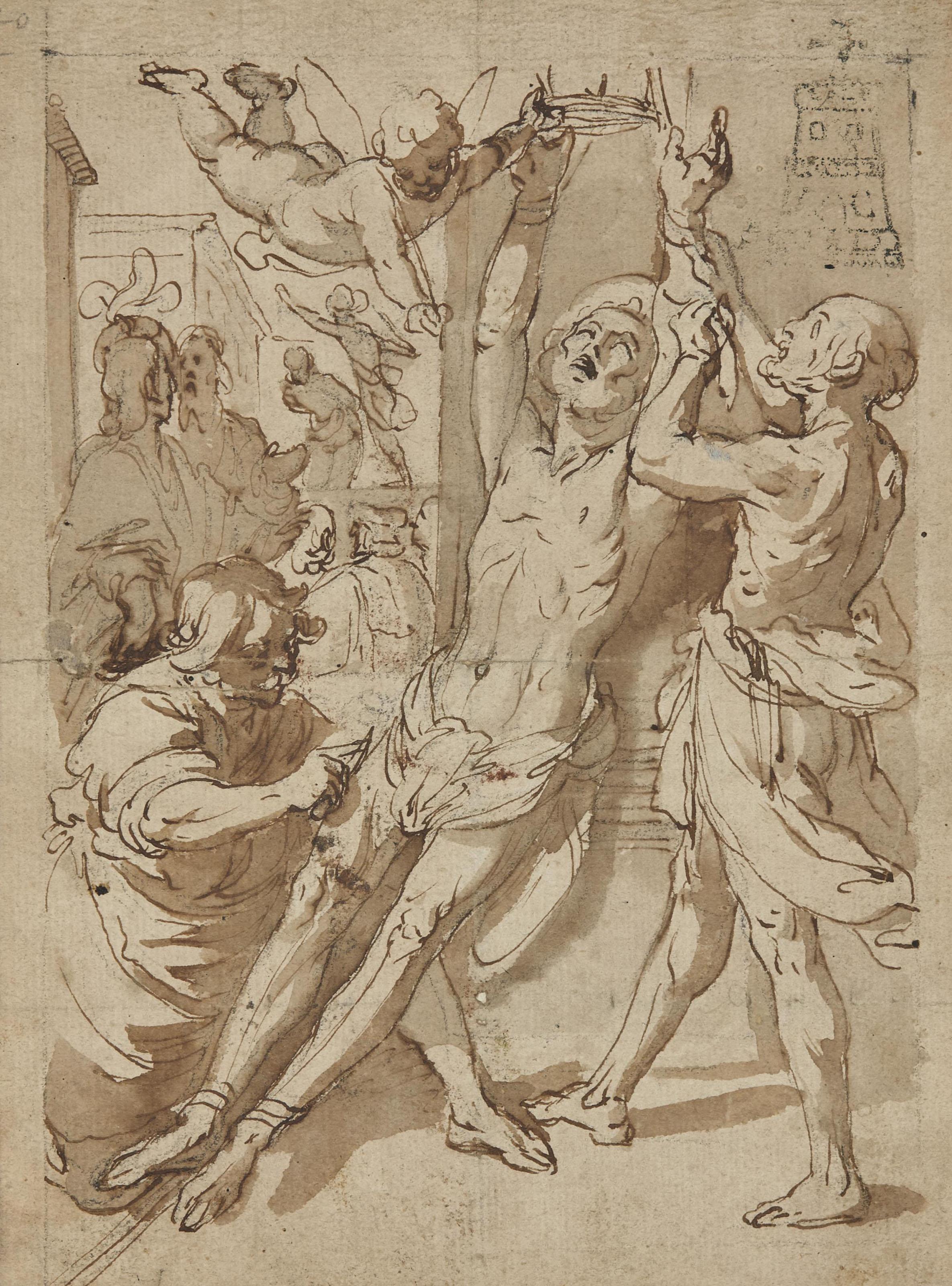 Le martyre de Saint Bartholomée