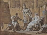 Alexandre cède Campaspe à Apelle