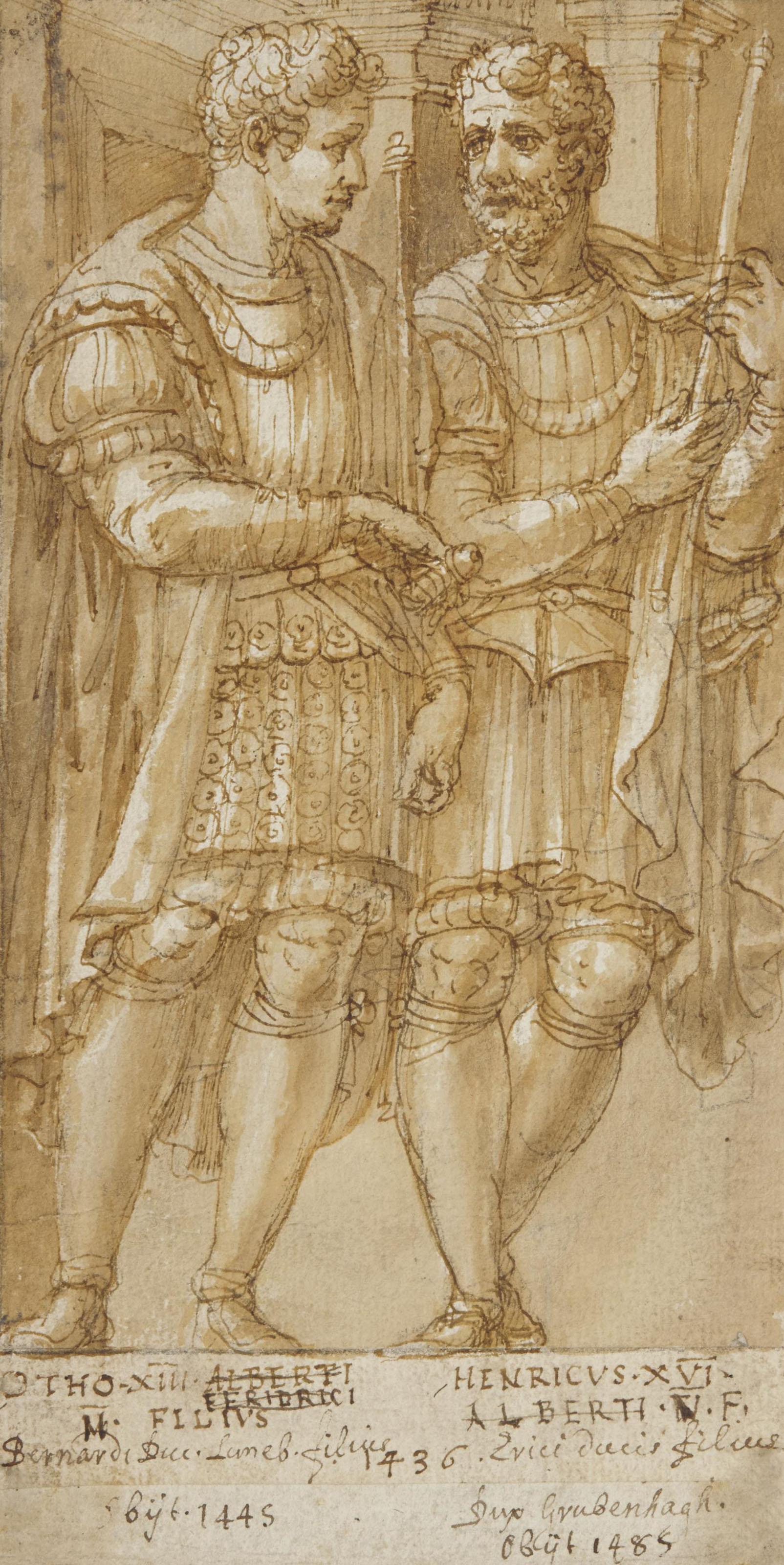 Othon XIII et Henri XVI de Limbourg