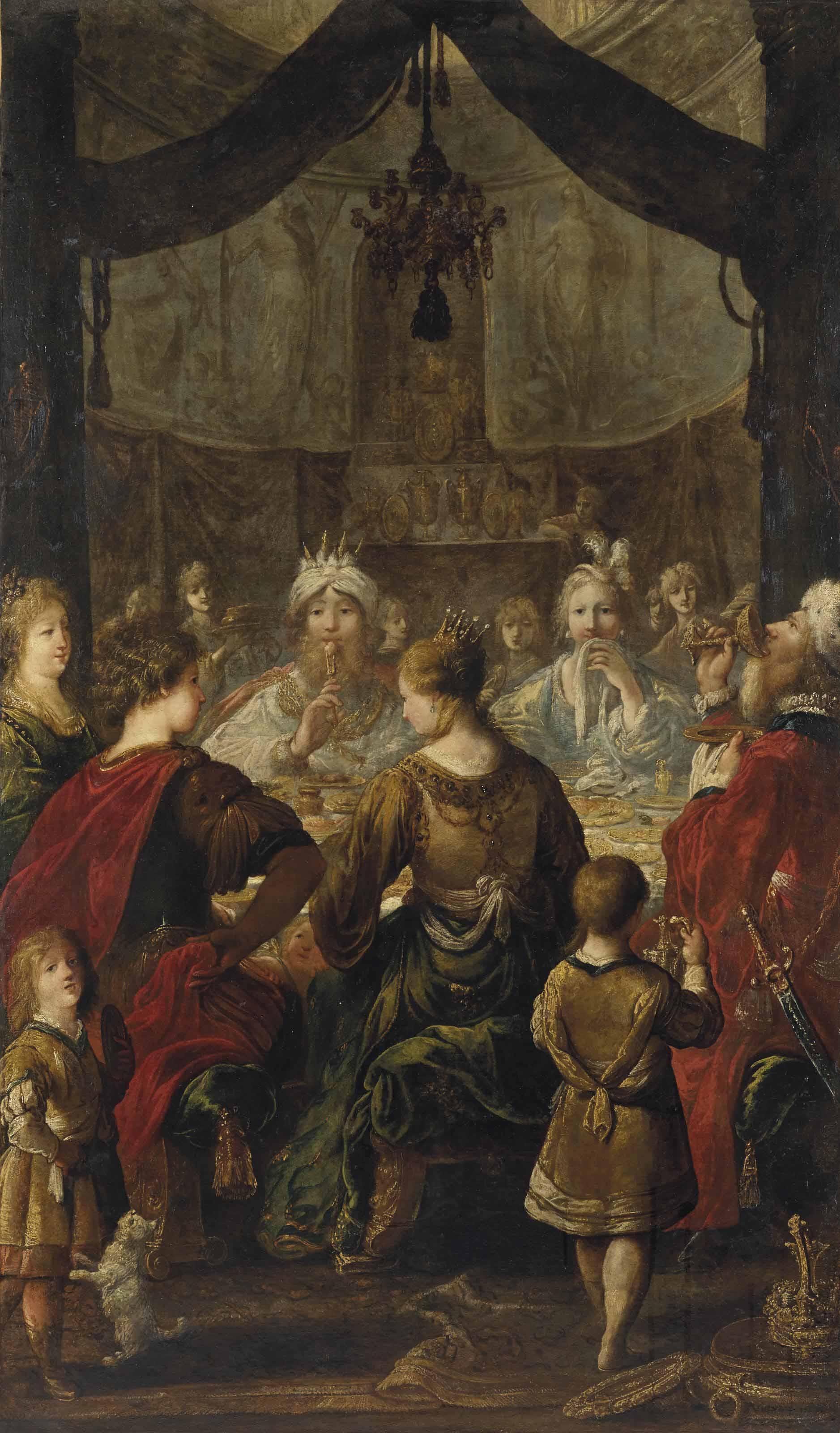 Le banquet chez Ménélas