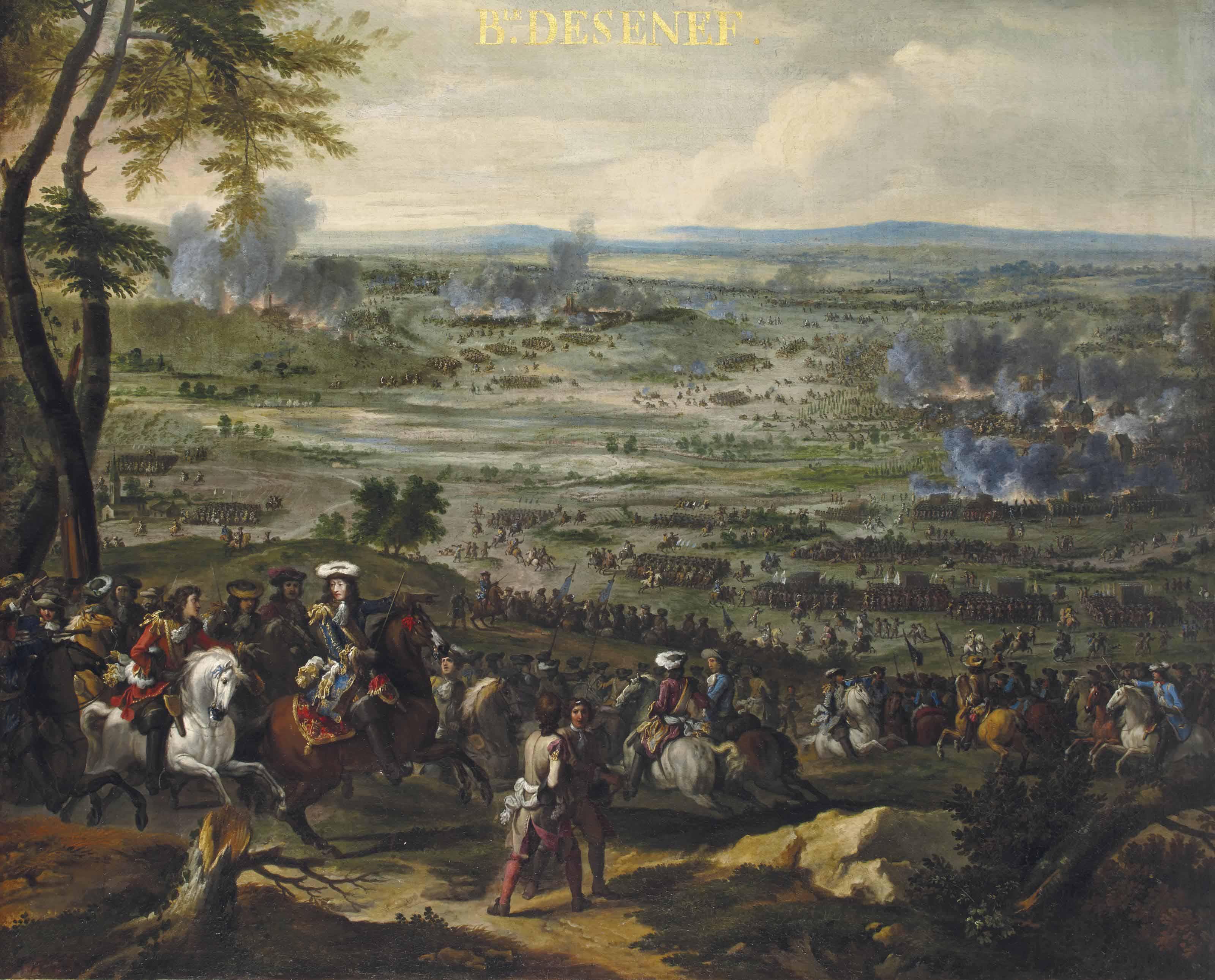 La bataille de Seneffe