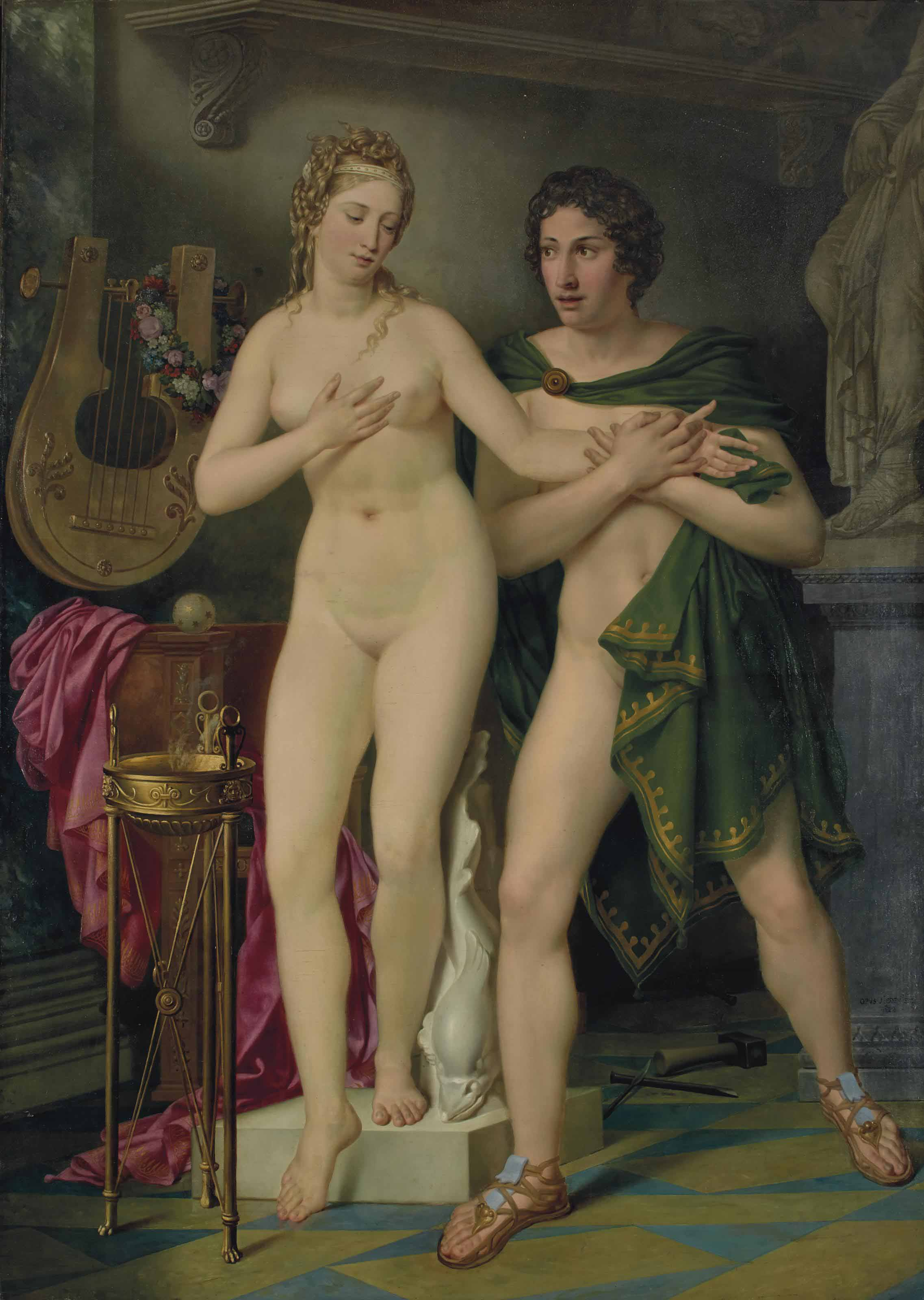 JOSEPH-DENIS ODEVAERE (BRUGES 1778-1830 BRUXELLES)
