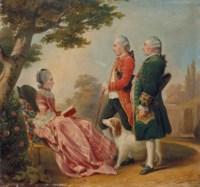 La marquise de Pons, le chevalier de Durfort et monsieur de Margerie