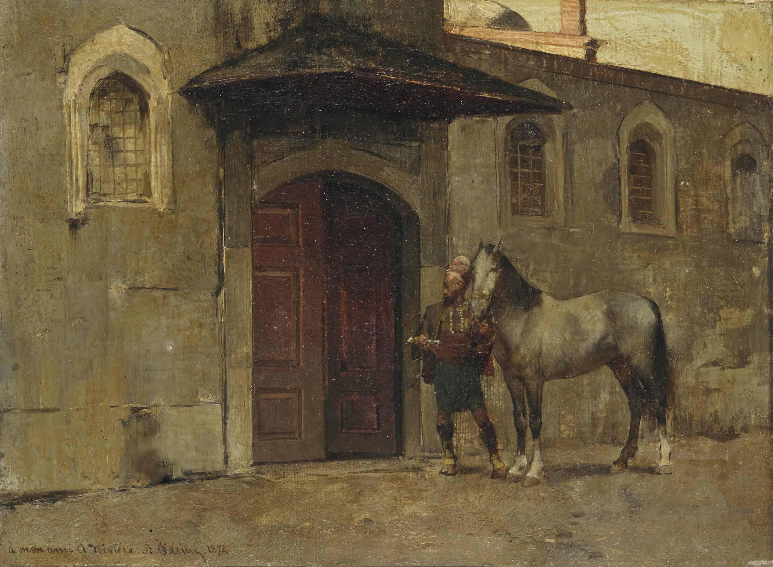 ALBERTO PASINI (BUSSETO 1826-1
