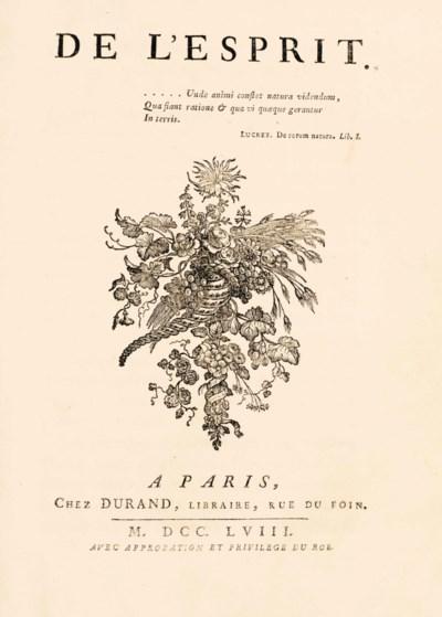 HELVÉTIUS, Claude Adrien (1715