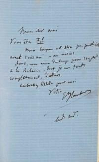 FLAUBERT, Gustave (1821-1880). Trois contes. Un coeur simple. La Légende de saint Julien l'Hospitalier. Hérodias. Paris: G. Charpentier, 1877. In-12 (181 x 122 mm). Reliure signée Noulhac, maroquin havane, doublure de maroquin lavallière, encadrement de même maroquin et de maroquin havane et vert orné de fers dorés, gardes de faille rouge, couverture imprimée et dos conservés, tranches dorées, étui assorti.