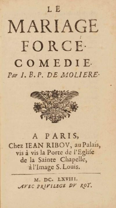 MOLIÈRE (1622-1673). Le Mariag