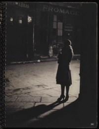 [BRASSAÏ] -- MORAND, Paul (1888-1976). Paris de nuit. Paris: Arts et métiers graphiques, [1933]. In-4 (250 x 192 mm). 62 photographies inédites de Brassaï en héliogravure. Couverture originale ornée d'après Brassaï, reliure à spirales.
