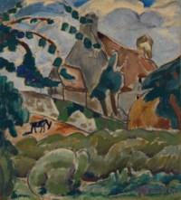 Village breton sur le Bélon